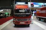 福田 奥铃CTX中卡 156马力 4X2 6.75米排半厢式载货车(BJ5139XXY-F5)图片