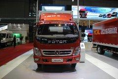 福田 奥铃CTX中卡 156马力 4X2 6.75米排半厢式载货车(BJ5139XXY-F5)