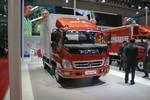 福田 奥铃CTX中卡 170马力 4X2 6.75米排半厢式载货车(BJ5149XXY-F3)