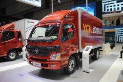 福田 欧马可1系 150马力 4.2米单排厢式轻卡(BJ5049V8BD6-FB) 卡车图片
