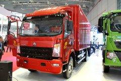 中国重汽HOWO 统帅 160马力 5.8米排半厢式轻卡(ZZ5127XXYG451CD1) 卡车图片