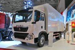 中国重汽 HOWO T5G中卡 180马力 4X2 6.92米厢式载货车(ZZ5167XXYK501GE1) 卡车图片