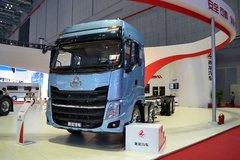 东风柳汽 乘龙H7重卡 320马力 8X4载货车底盘(豪华版)(LZ1311QELAT) 卡车图片