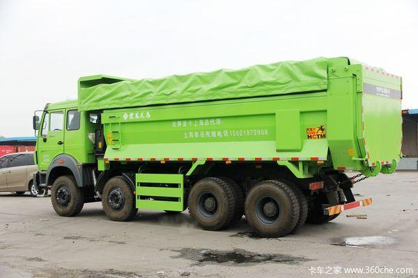 优惠0.8万上海北奔NG80自卸车促销中