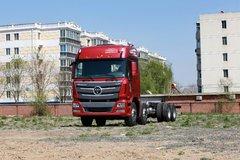 福田 欧曼GTL 6系重卡 超能版 山区型 350马力 8X4 9.5米厢式载货车底盘(BJ1319VPPKJ-XC) 卡车图片
