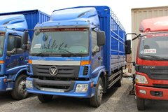 福田 欧马可5系中卡 170马力 4X2 7.8米仓栅式载货车(BJ5169XXY-F2) 卡车图片