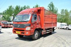 福田 欧马可3系 156马力 5.75米排半仓栅式载货车(BJ5109CCY-A1)