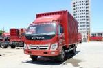 福田 奥铃TX 超值版 110马力 4.2米单排厢式轻卡(气刹)(BJ5049XXY-AA)