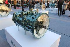 中国重汽HW25712X 12挡 手动变速箱