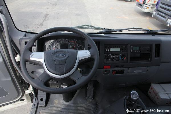 江淮格尔发K6L190马力7.8米箱车大优惠