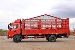陕汽商用车 轩德中卡 190马力 4X2 6.75米仓栅式载货车(SX5168CCYGP4)