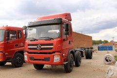 陕汽商用车 轩德中卡 220马力 6X2 7.8米仓栅式载货车底盘(SX5255CCYGP4) 卡车图片