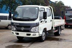 福田 骁运 110马力 3.2米双排栏板载货车 卡车图片