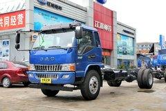 江淮 骏铃E7 154马力 4X2 6.8米排半载货车底盘(HFC5160XXYP81K1E1)