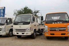 凯马 骏威 95马力 3.3米双排栏板轻卡(KMC1042LLB33S4) 卡车图片