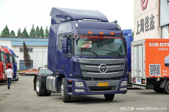 福田 欧曼GTL 6系重卡 430马力 4X2牵引车(BJ4189SLFKA-AB)