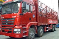 陕汽商用车 轩德X3重卡 310马力 8X4 9.5米仓栅式载货车(SX5316CCYGN456) 卡车图片