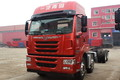 青岛解放 途V重卡 320马力 8X4 9.5米栏板载货车(CA1313P2K2L7T4E5A80)图片