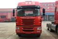 青岛解放 途V重卡 320马力 8X4 9.5米仓栅式载货车(CA5313CCYP2K2L7T4E5A80-1)图片