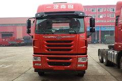 青岛解放 途V重卡 350马力 8X4 9.5米仓栅式载货车(一汽)(CA5313CCYP2K2L7T4E5A80-1)图片