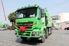 陕汽重卡 德龙新M3000 336马力 8X4 6.5米新型环保渣土车(SX3316HR326)