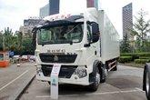 中国重汽 HOWO T5G重卡 310马力 6X2 9.52米厢式载货车(ZZ5257XXYM56CGE1)