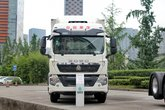 中国重汽 HOWO T5G重卡 340马力 8X4 9.5米厢式载货车(ZZ5317XXYN466GE1)