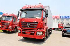 陕汽重卡 德龙新M3000 245马力 6X2 9.5米厢式载货车(SX5206XXYGK549) 卡车图片