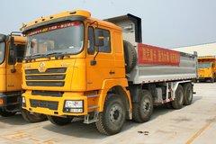 陕汽 德龙F3000重卡 336马力 8X4 9.3米栏板载货车(轻量化版)(SX1315NT456) 卡车图片