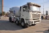 陕汽 德龙F3000 375马力 8X4 混凝土搅拌车(SX5316GJBDT366)