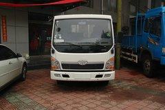 青岛解放 赛虎III 110马力 4X2 5.2米单排栏板载货车(CA1051P40K2L1EA81) 卡车图片