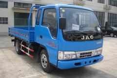 江淮 好运 130马力 4X2 4.9米排半栏板载货车(HFC1120K1R1T) 卡车图片