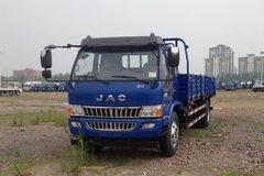 江淮 骏铃W530中卡 160马力 4X2 6.7米栏板载货车(HFC1131PZ6K2E1) 卡车图片
