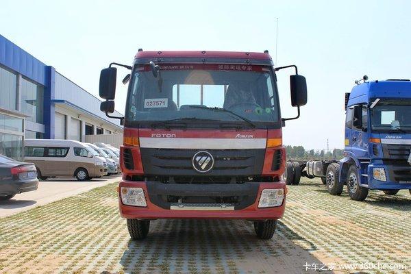 福田 欧马可5系中卡 高效版 170马力 4X2 6.75米排半栏板载货车