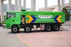 陕汽重卡 德龙新M3000 336马力 8X4 6.5米新型渣土车(SX3316HR326) 卡车图片