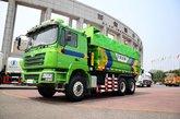 陕汽重卡 德龙F3000 336马力 6X4 5.6米新型渣土车(SX3256DR3841)
