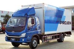 时骏 斯卡特 115马力 排半厢式轻卡(LFJ1085G1) 卡车图片