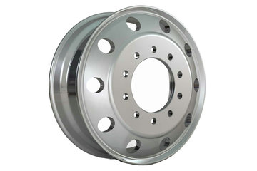 宝石 24.5X8.25铝合金车轮(编号:T011208532A)