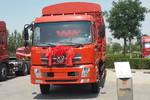东风商用车 天锦中卡 180马力 4X2 6.8米排半仓栅式载货车(DFL5160CCQBX5)