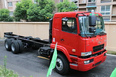 华菱之星 重卡 270马力 6X4 8.2米排半载货车底盘(HN1250C27E8M4) 卡车图片