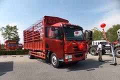 青岛解放 龙V中卡 164马力 4X2 6.8米仓栅载货车(一汽6档)(CA1168PK2L2E4A80) 卡车图片