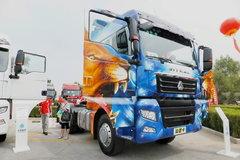 中国重汽 汕德卡SITRAK C7H重卡 440马力 6X2R牵引车(彩绘后提升桥)(ZZ4256V323HD1) 卡车图片