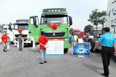 中国重汽 HOWO T7H重卡 440马力 6X2牵引车(绿色后提升桥)(ZZ4257V323HD1) 卡车图片