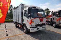 中国重汽HOWO 悍将 102马力 4.2米单排厢式轻卡(ZZ5047XXYD3414D145) 卡车图片