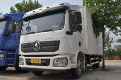陕汽重卡 德龙L3000 180马力 4X2 6.5米排半厢式载货车(SX1100MG481C) 卡车图片