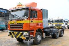 陕汽重卡 德龙F3000 350马力 6X4 LNG牵引车(天然气运输车)(SX4256NT384T) 卡车图片