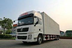 陕汽重卡 德龙X3000 270马力 6X2 9.55米厢式载货车(SX5200XXYXA)图片