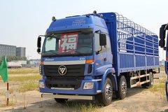 福田 欧曼ETX 5系重卡 230马力 6X2 9.5米仓栅载货车(BJ5252CCY-XB)