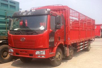一汽解放 J6L中卡 复合型 220马力 6X2 9.7米仓栅式载货车(CA5250CCYP62K1L8T3E5)