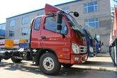 福田 奥铃CTX中卡 156马力 4X2 5.2米排半载货车底盘(BJ5109XXY-FC)